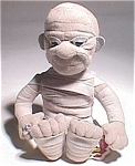 Ltd. Ed. The Mummy Bean Toy W/rare Embroidered Logo Universal Monster