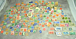 1940s 1950s (Lot) Worldwide Stamps Postally Used