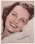 "Rochelle Hudson 8"" X 10"" Signed Photo, 1930s"