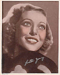 "Loretta Young 8"" X 10"" Signed Photo, 1930s"