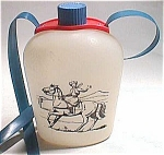 1950s/1960s Plastic Western Cowgirl Canteen