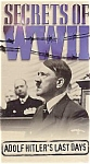 Secrets Of Wwii, Adolf Hitler's Last Days, Vhs Video, Mint/sealed