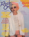 Rock On , #6 Oct. 1978, London Magazine, Elp, Rezillos, Sex Pistols, Patti Smith