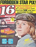16 Magazine, Nov. 1974, Alice Cooper, Marie Osmond, Linda Blair, The Beatles