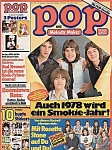 Pop Mit Melody Maker, Jan. 1978, German Magazine Sweet Boomtown Rats Patti Smith