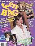 Teen Bag Magazine, Aug. 1978, Alice Cooper, Joan Jett, Andy Gibb