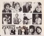 1979 Grammy Awards, Cbs-tv Press Photo, Elvis Costello, Bee Gees, Rolling Stones