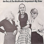 Ian Dury & The Blockheads, Sueperman's Big Sister, 45rpm Import With Pic Sleeve