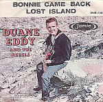1959 Duane Eddy And The Rebels, Bonnie Come Back, 45rpm Record W/ Picture Sleeve
