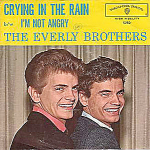The Everly Brothers, I'm Not Angry, 45 Rpm Record With Picture Sleeve