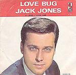 Jack Jones, Love Bug B/w And I Love Her, 45rpm Record With Picture Sleeve, 1966