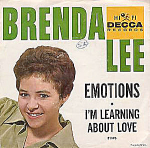 Brenda Lee, Emotions, 45 Rpm Record With Picture Sleeve, 1961