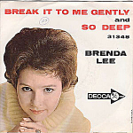 Brenda Lee, So Deep, 45 Rpm Record With Picture Sleeve, 1962