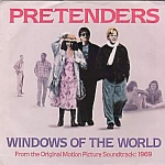 Pretenders, Windows Of The World B/w 1969, 45 Rpm Record With Picture Sleeve