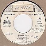 Frank Sinatra, Summer Wind, 45 Rpm Promo Record, 1966