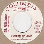 Dr. Feelgood & The Interns, Doctor Of Love, 45 Rpm Radio Promo Record, 1965