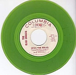 The Glad Singers, Deck The Halls, Green Vinyl Promo 45 Rpm Christmas Record