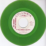 Ray Conniff And The Singers, The Real Meaning Of Christmas, Green Vinyl Promo 45