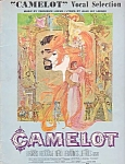 Camelot, Songbook , 1961, Richard Harris, Vanessa Redgrave, Sheet Music