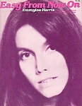 Emmylou Harris, Easy From Now On, Sheet Music, 1978