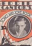 Eddie Cantor's Song And Joke Book, Number 1, 1930