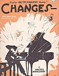 Changes, Fox Trot Song, 1927 Sheet Music, Ukulele, Banjo Uke