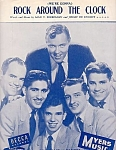 Bill Haley And The Comets, Rock Around The Clock, Sheet Music, 1953
