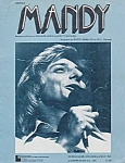 Barry Manilow, Mandy, Sheet Music, 1971