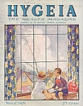 1929 Hygeia Magazine, American Medical Association, Peter Rabbit, Ida Spaeth
