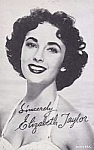 1940s Elizabeth Taylor Vending Machine Arcade Card