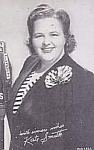 1940s Kate Smith Vending Machine Arcade Card