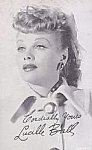 1940s Lucille Ball Vending Machine Arcade Card, Pre- I Love Lucy