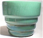 Haeger Heavy Ceramic Green Planter