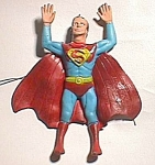 1973 Superman Rubber Figure By Ben Cooper