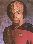 Star Trek, Next Generation, Michael Dorn As Lt. Worf Photo, 1987