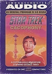 Star Trek Cacophony A Captain Sulu Adventure Audio Cd By George Takei