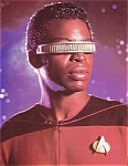Star Trek, Next Generation, Levar Burton As Geordi Laforge Photo, 1987
