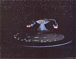 Star Trek, The Next Generation, U.s.s. Enterprise Photo, 1987