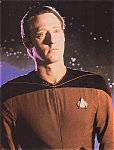 Star Trek, Next Generation, Brent Spiner As Lt. Cmdr. Data Photo, 1987
