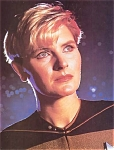 Star Trek, The Next Generation, Denise Crosby As Natasha Yar Photo, 1987