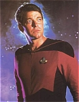 Star Trek, Next Generation, Jonathan Frakes As William Riker Photo
