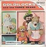 1963 Viewmaster Goldilocks And The Three Bears Set, Gaf View Master