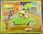 Dick Tracy Frame Tray Puzzle By Jaymar, Early 1960s, Jewelry Store Robbery