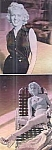 Marilyn Monroe Special Hologram Cards, Set Of 2, Vision Graphics, 1992