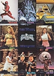 Mighty Morphin Power Rangers Premium Edition Uncut Card Sheet