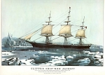 Currier And Ives Clipper Ship Red Jacket