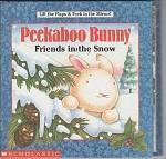 Peekaboo Bunny Friends In The Snow