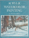 Vintage - Acrylic Watercolor Painting - Blake