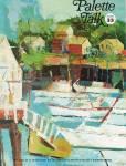 Vintage - Palette Talk - Grumbacher - No-33 - Oop