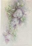 Vintage - Lilac Tile - Sonie Ames - 1978